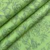 Monza Men's Light Green Cotton Floral Printed Shirt Fabric