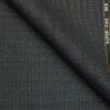 J.Hampstead by Siyaram's Dark Grey Structured Super 100's 35% Wool Premium Unstitched Three Piece Suit Fabric (3.75 Mtr)