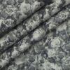 Monza Men's Light Grey 100% Premium Cotton Dark Grey Digital Print Shirt Fabric (1.60 M)
