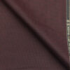 Grasim Maroon Red Structured Poly Viscose Trouser or 3 Piece Suit Fabric (Unstitched - 1.25 Mtr)