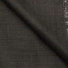 Raymond Dark Bown Polyester Viscose Self Design Unstitched Suiting Fabric - 3.75 Meter