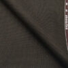 Raymond Coffee Brown Polyester Viscose Self Structured Unstitched Suiting Fabric - 3.75 Meter