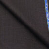 Raymond Dark Wine Polyester Viscose Self Checks Shiny Unstitched Suiting Fabric - 3.75 Meter