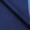 Raymond Bright Royal Blue Polyester Viscose Dotted Strcuture Unstitched Suiting Fabric - 3.75 Meter