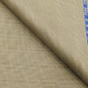 Raymond Beige Polyester Viscose Self Checks Unstitched Suiting Fabric - 3.75 Meter