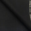 Raymond Black Polyester Viscose Self Checks Unstitched Suiting Fabric - 3.75 Meter