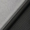 Raymond Men's Blackish Grey Self Checks Poly Viscose Trouser Fabric With Nemesis Light Grey Structured Cotton Shirt Fabric (Unstitched Combo)