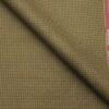 Raymond Men's Poly Viscose Unstitched Micro Checks Suiting Fabric (Khakhi)