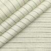 Raymond Men's Linen Striped Unstitched Shirt Fabric (Milky White)