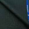 J.Hampstead Men's Polyester Viscose Self Design Unstitched Suiting Fabric (Dark Sea Green)
