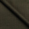 J.Hampstead Men's Terry Rayon Checks Unstitched Suiting Fabric (Dark Carob Brown)