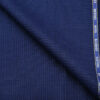 Cadini Italy Men's Wool Structured Super 90's Unstitched Trouser or Modi Jacket Fabric (Royal Blue
