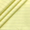 Cadini Men's Cotton Striped 2 Meter Unstitched Shirting Fabric (Banana Yellow)