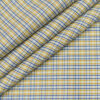 Arvind Men's Cotton Checks Unstitched Shirting Fabric (White)