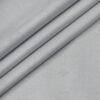 Soktas Men's Giza Cotton Self Design Unstitched Shirting Fabric (Light Grey)