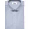 Soktas Men's Giza Cotton Structured 2 Meter Unstitched Shirting Fabric (Light Blue)